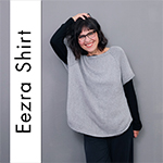 Pattern for the Eezra Shirt by rosa p.