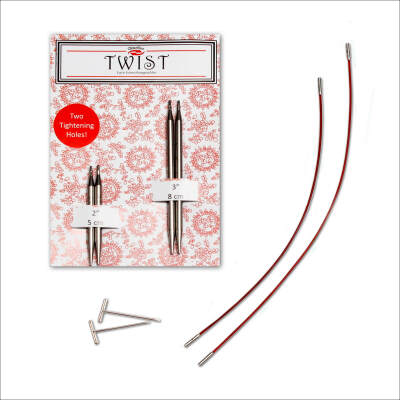 ChiaoGoo Red TWIST Short Combo  (M) - 2.25mm
