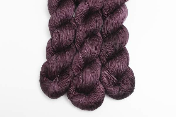 PureSilk Single | Black Aubergine
