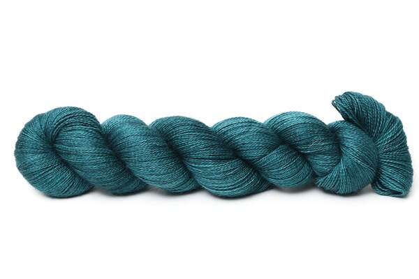 Angel Delight lace | Cold Petrol Spruce