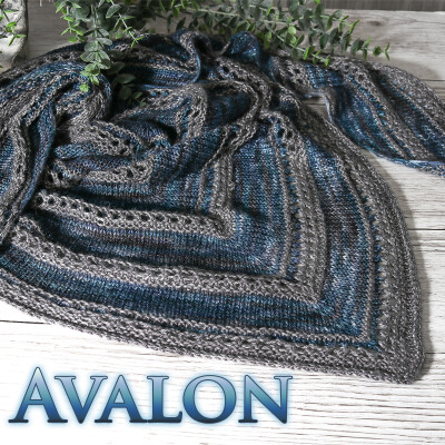Anleitung Avalon Tuch - Download