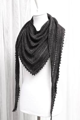 Pattern Morgaine le Fay Shawl - Download