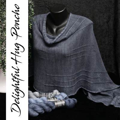 Anleitung Delightful Hug Poncho - Download